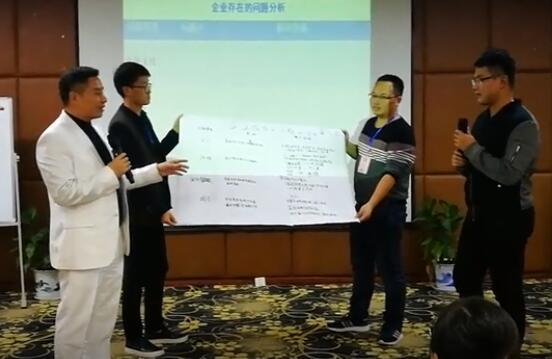 苏泊尔高管与杨荐民老师分享上课感悟