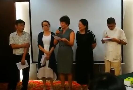 善聪集团高管在杨荐民老师的课堂上发表收获感想